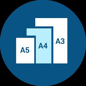 Создание макета А5/А4/А3/А2/А1