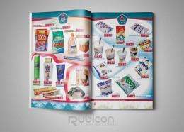 """Верстка брошюры супермаркета """"Абсолют"""""""