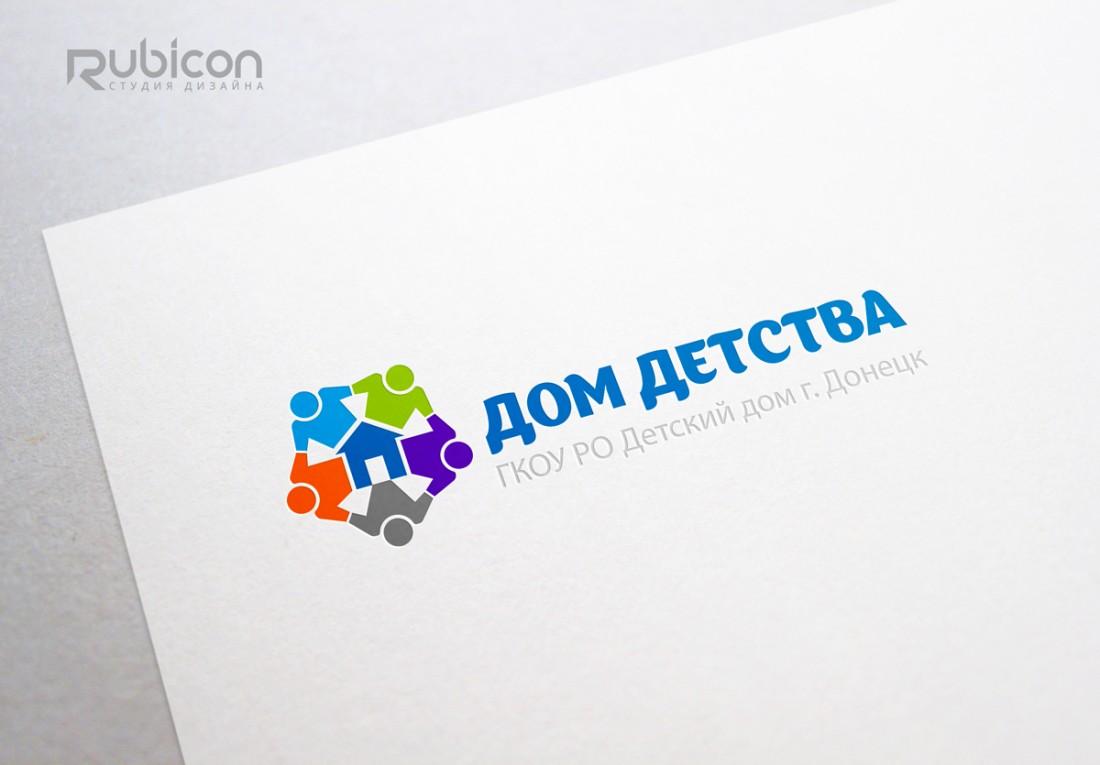 Логотип для детского дома