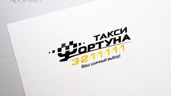 Логотип для службы такси