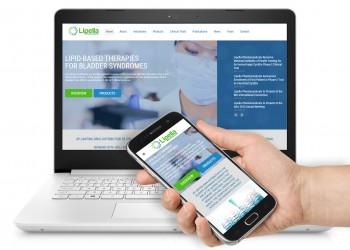 Сайт фармакологической компании