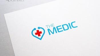Логотип для медицинского мобильного приложения